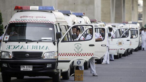 Ambulanze in Thailandia - Sputnik Italia