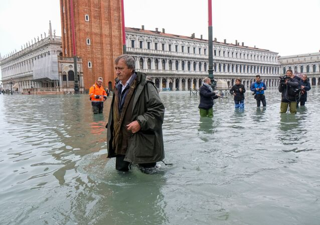 Luigi Brugnaro, sindaco di Venezia