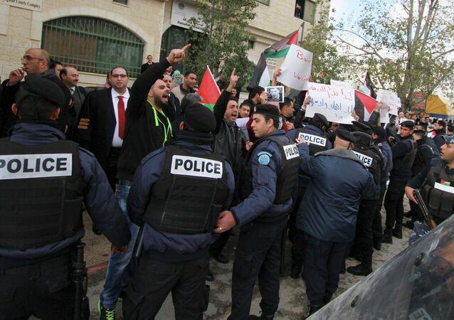 La polizia israeliana