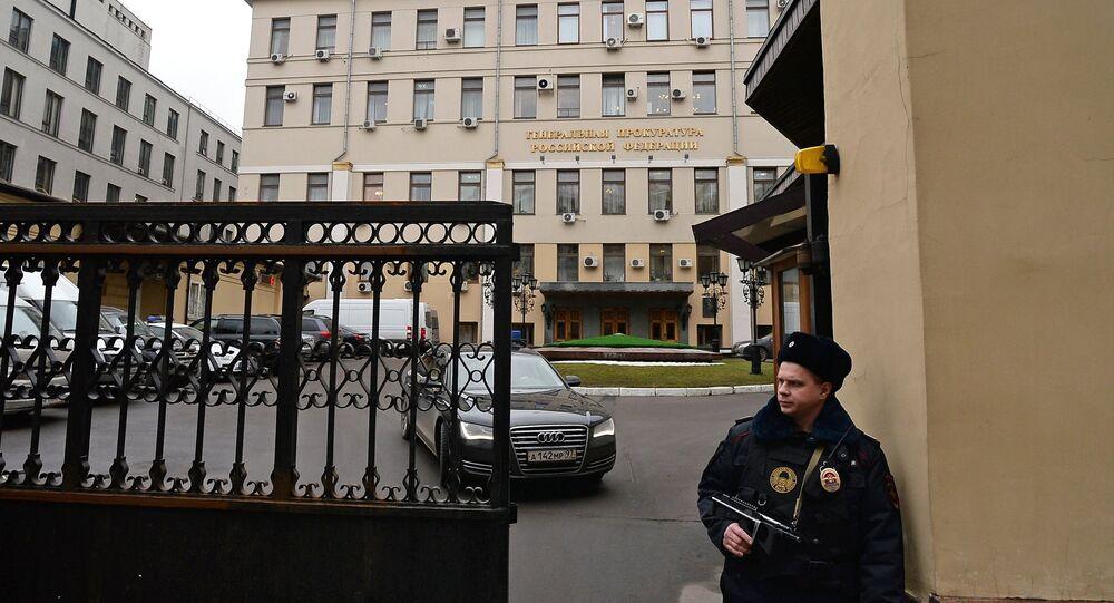 L'uficcio della procura generale della Federazione Russa a Mosca