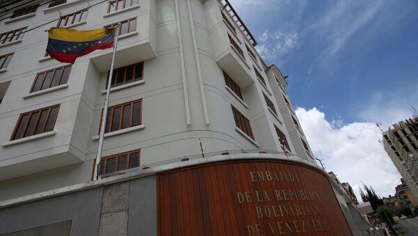 L'edificio dell'ambasciata venezuelana a La Paz - Sputnik Italia