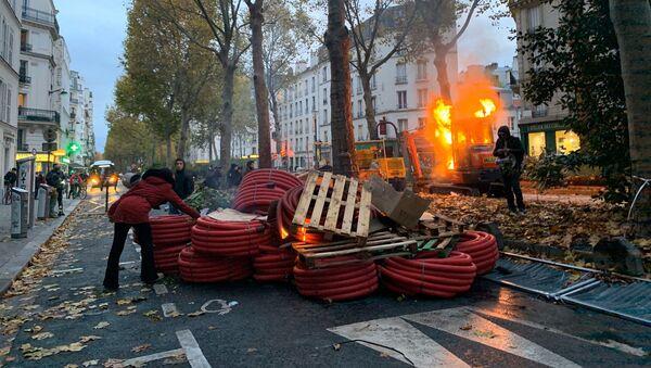 Acte 53 des Gilets Jaunes, Paris 16 novembre 2019 - Sputnik Italia