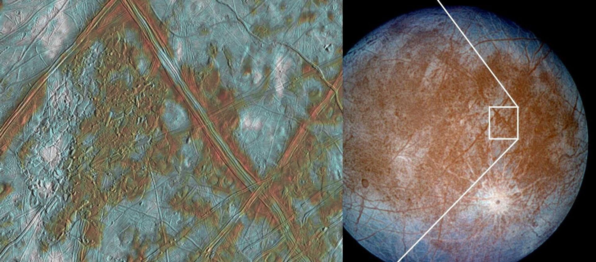 La luna di Giove, Europa - Sputnik Italia, 1920, 19.11.2019