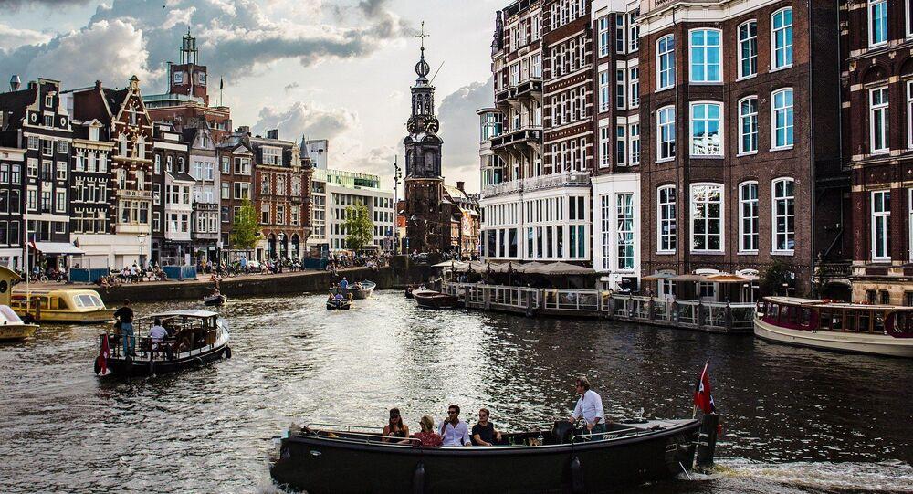 La capitale dei Paesi Bassi, Amsterdam