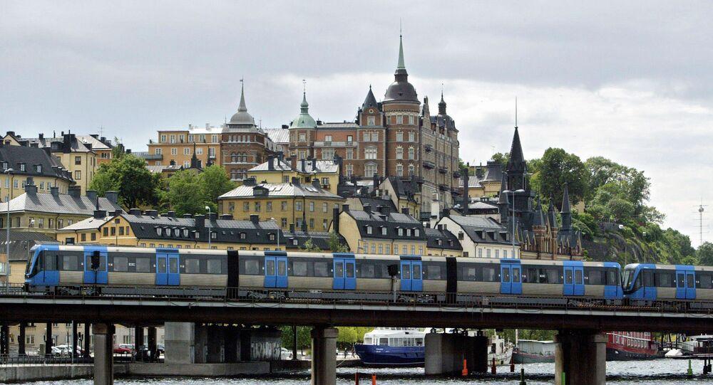 Vista sull'isola Sodermalm a Stoccolma
