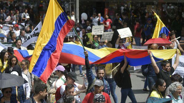 Protestas en Colombia  - Sputnik Italia