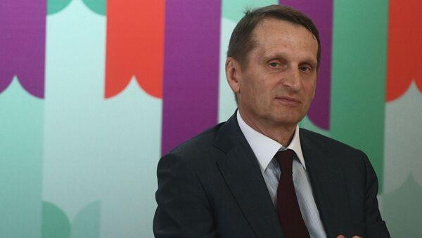 Capo dell'SVR Sergey Naryshkin - Sputnik Italia
