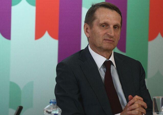 Capo dell'SVR Sergey Naryshkin