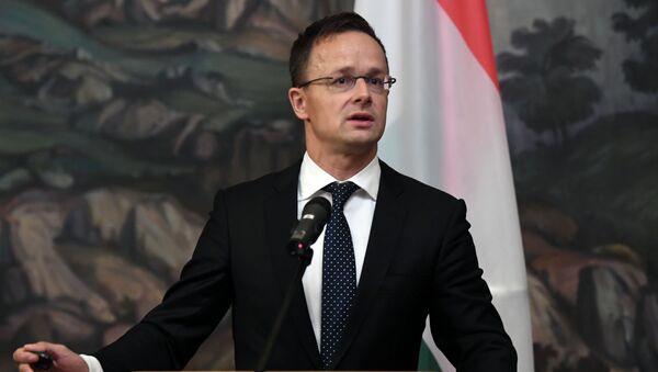 Il ministro degli Esteri ungherese Peter Szijjarto - Sputnik Italia