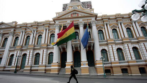 Il parlamento della Bolivia - Sputnik Italia