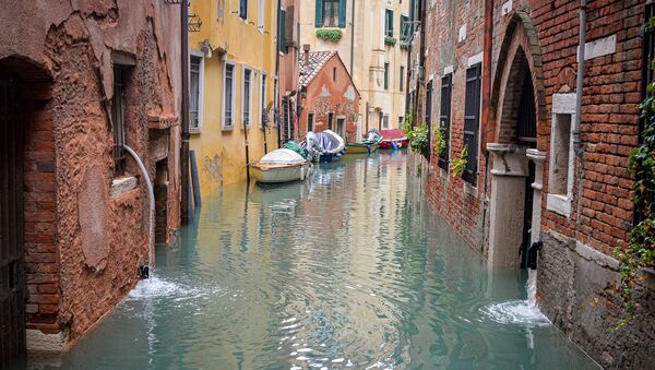 Alluvione a Venezia - Sputnik Italia