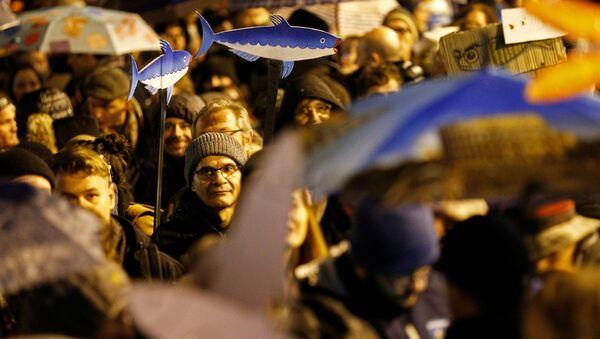 Le proteste di sardine - Sputnik Italia