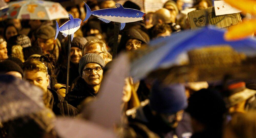 Proteste di Sardine