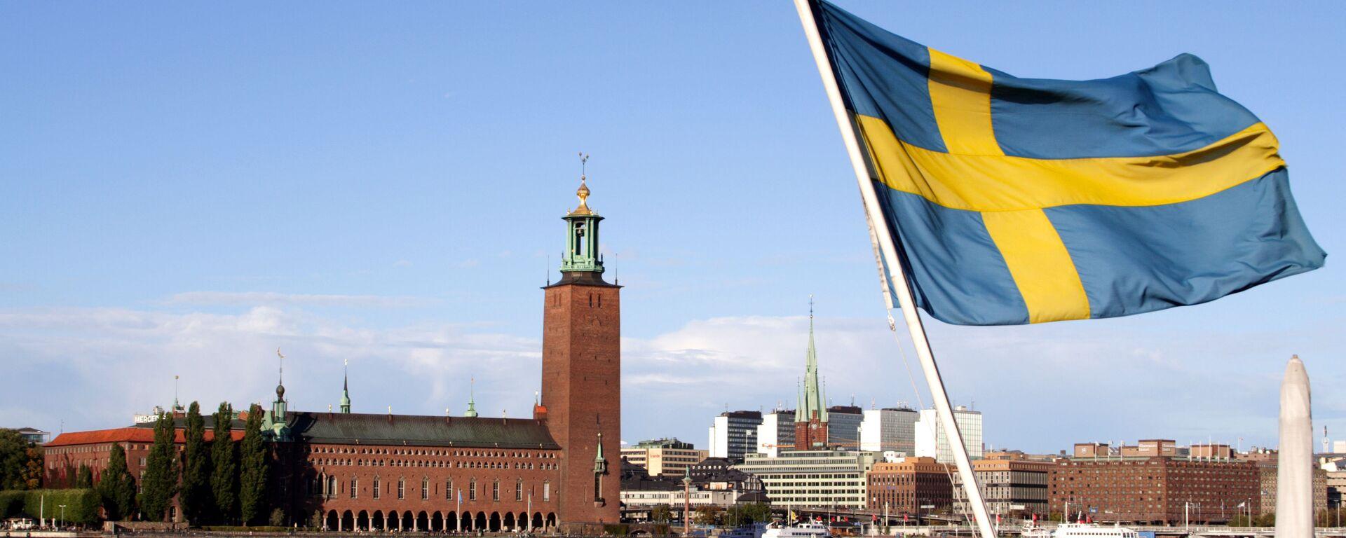 Bandiera svedese - Sputnik Italia, 1920, 04.02.2021