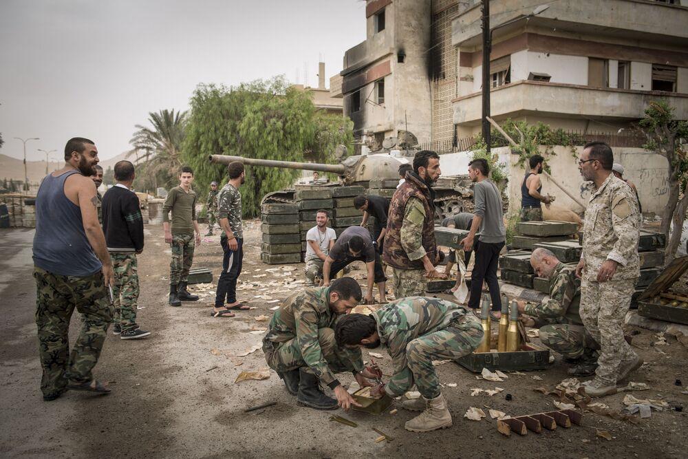 La situazione a Palmira