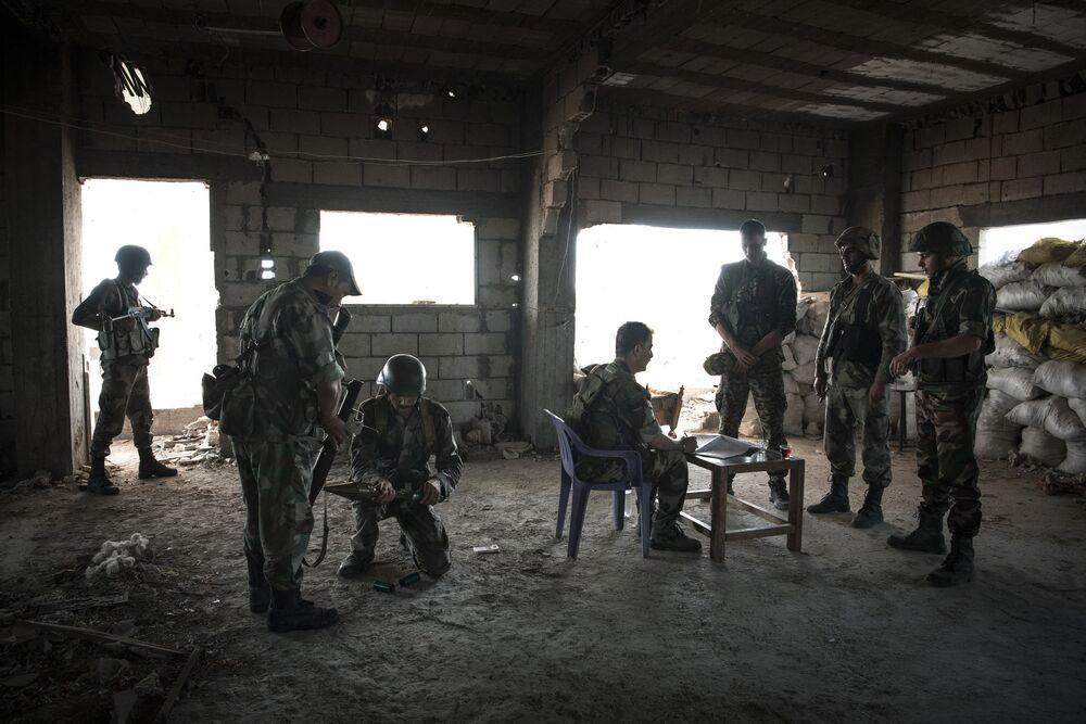 La situazione a Hatlah (Deir ez-Zor)
