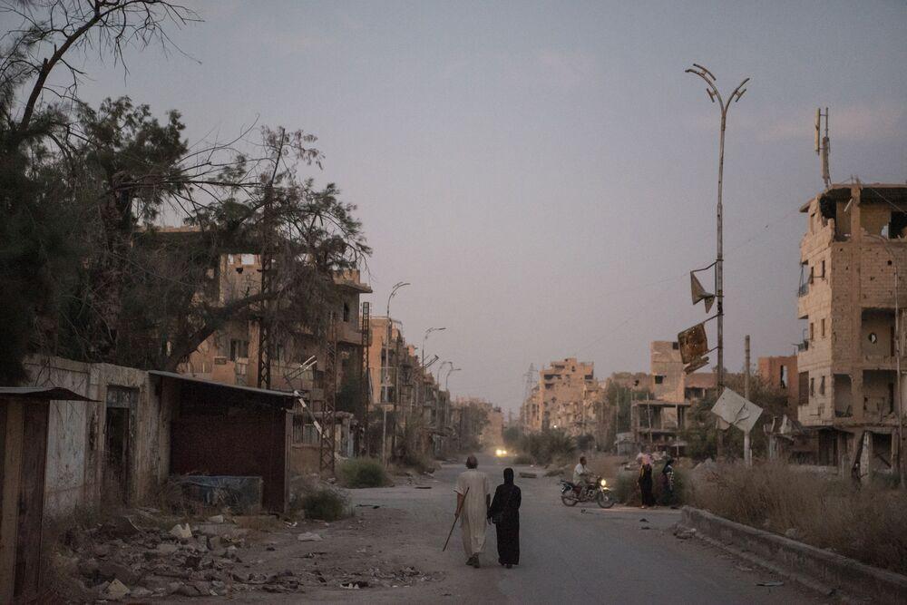 La vita quotidiana a Deir ez-Zor