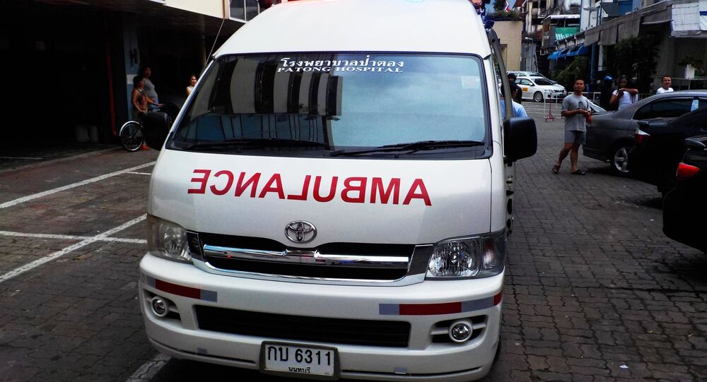 Ambulanza Thailandia