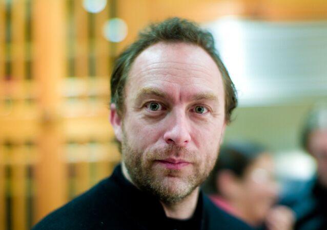 Jimmy Wales, fondatore di Wikipedia