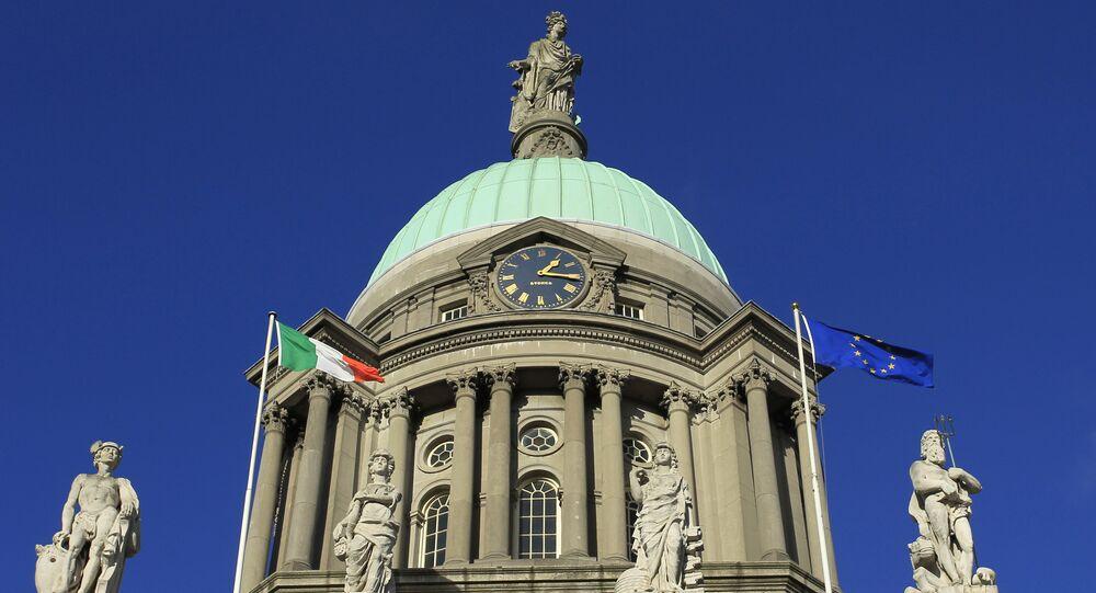 Il parlamento irlandese