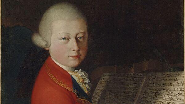 Ritratto del tredicenne Wolfgang Amadeus Mozart - Sputnik Italia