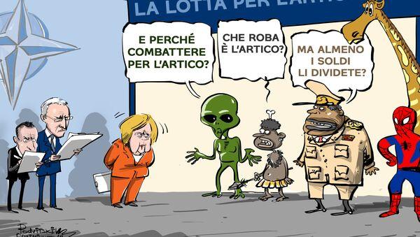 La NATO trascina paesi lontani dalla regione nell'Artico - Sputnik Italia