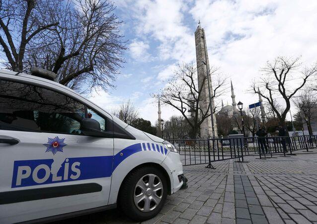 Autoveicolo della polizia turca