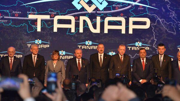 Avvio del gasdotto TANAP - Sputnik Italia