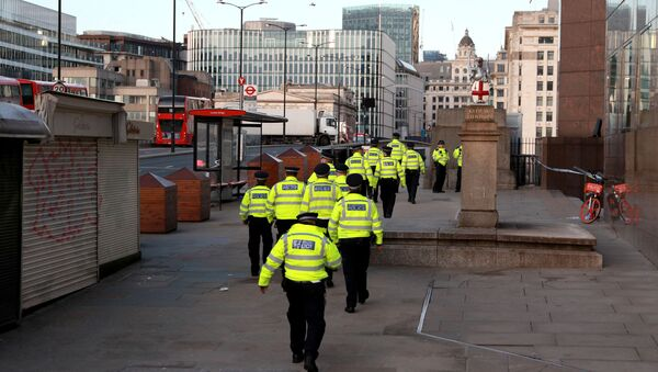 Polizia a London Bridge - Sputnik Italia