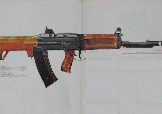 Il fucile d'assalto TKB-0146
