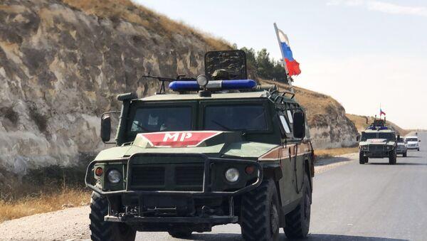 La polizia militare russa ad Aleppo  - Sputnik Italia