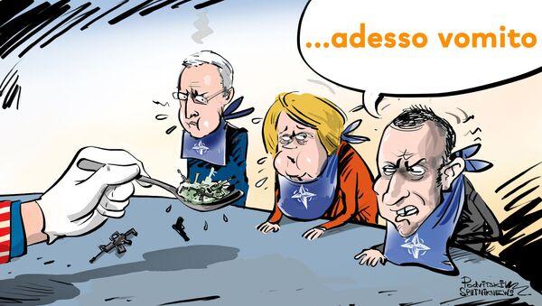 Gli Stati Uniti non dovrebbero obbligare i membri della NATO ad acquistare le loro armi. - Sputnik Italia