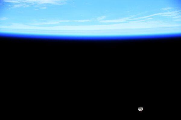 Foto scattata dalla Stazione Spaziale Internazionale fornita dall'astronauta statunitense Jessica Meir - Sputnik Italia