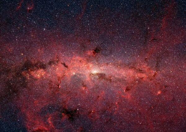 Il centro della Via Lattea immortalato dal telescopio Spitzer - Sputnik Italia