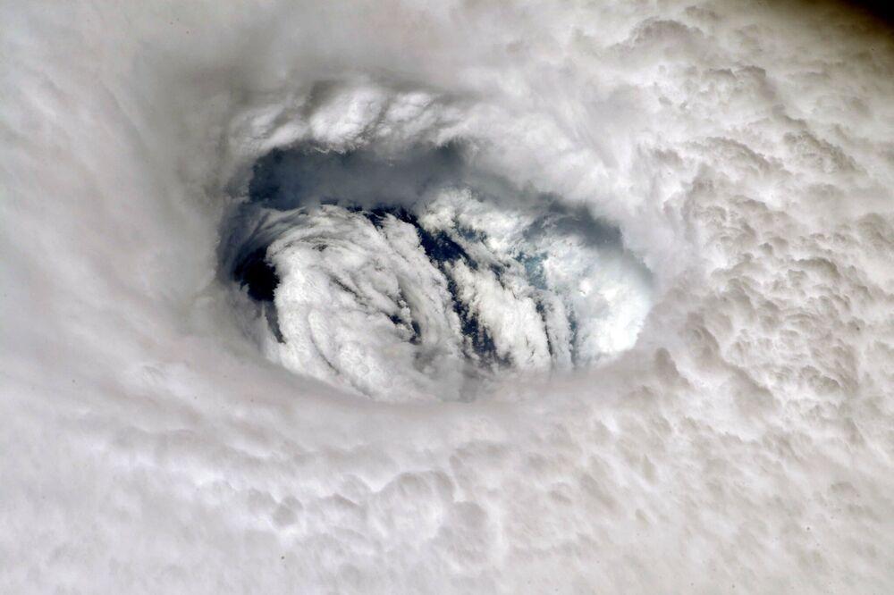 L'uragano Dorian dalla Stazione Spaziale Internazionale