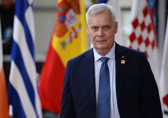 Il premier della Finlandia Antti Rinne
