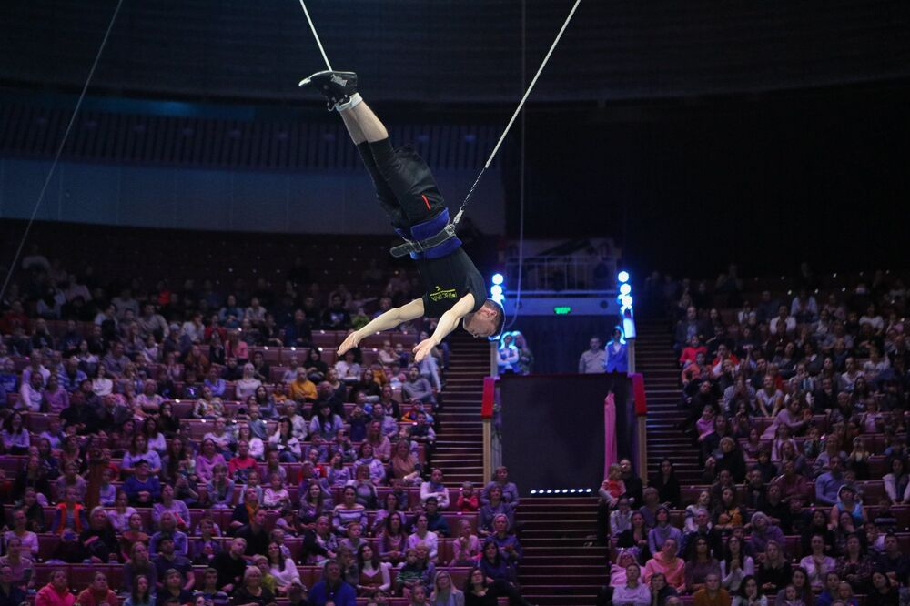 Il Gran Circo Statale di Mosca o Circo Bolshoi sul Vernadsky Avenue