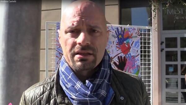 Il sindaco di Babbiano Andrea Carletti - Sputnik Italia