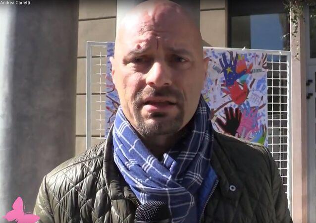 Il sindaco di Babbiano Andrea Carletti (foto d'archivio)