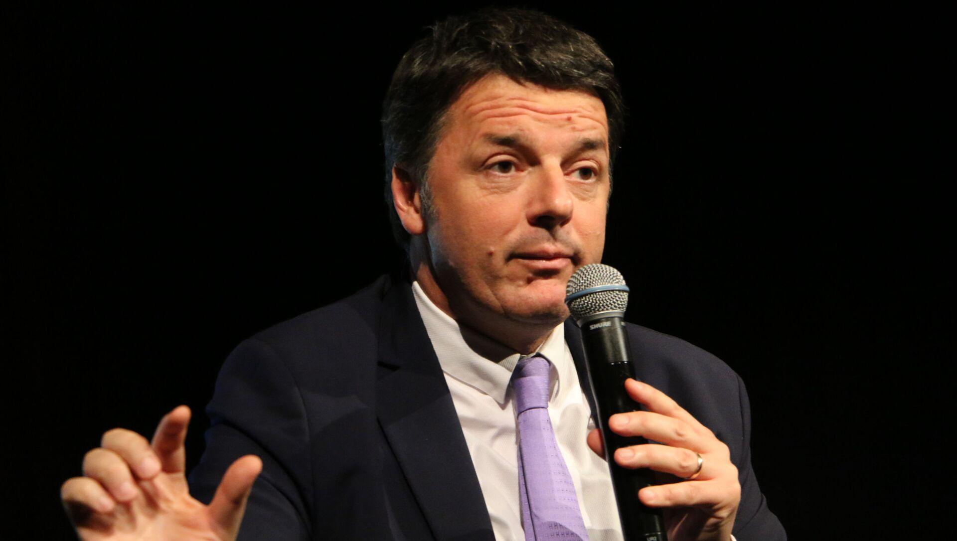 Polemiche sulla visita di Renzi in Arabia Saudita, ma lui si difende: Sono ossessionati da me - Sputnik Italia, 1920, 02.03.2021
