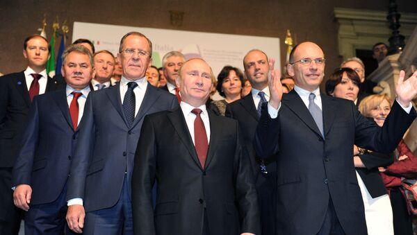 Novembre 2013, l'ultimo vertice ministeriale bilaterale tra Italia e Russia a Trieste - Sputnik Italia