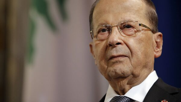 Michel Aoun - Sputnik Italia