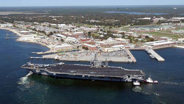 Base militare statunitense Pensacola, in Florida - Sputnik Italia