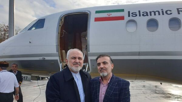 Javad Zarif e Massoud Soleimani - Sputnik Italia