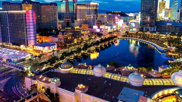 Una vista dall'alto su Las Vegas, USA. - Sputnik Italia