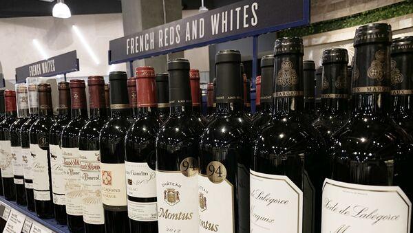 Vini francesi in un supermercato americano - Sputnik Italia
