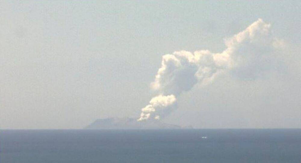 Il vulcano Whakaari
