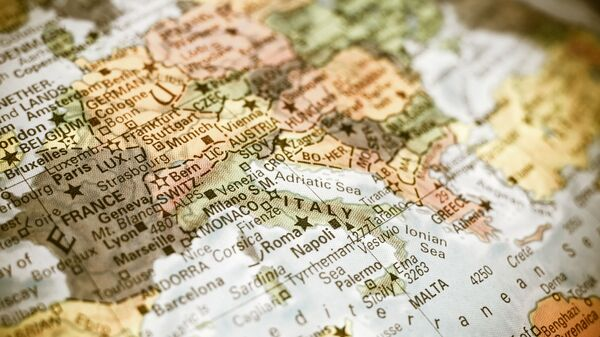 La mappa del Mediterraneo - Sputnik Italia