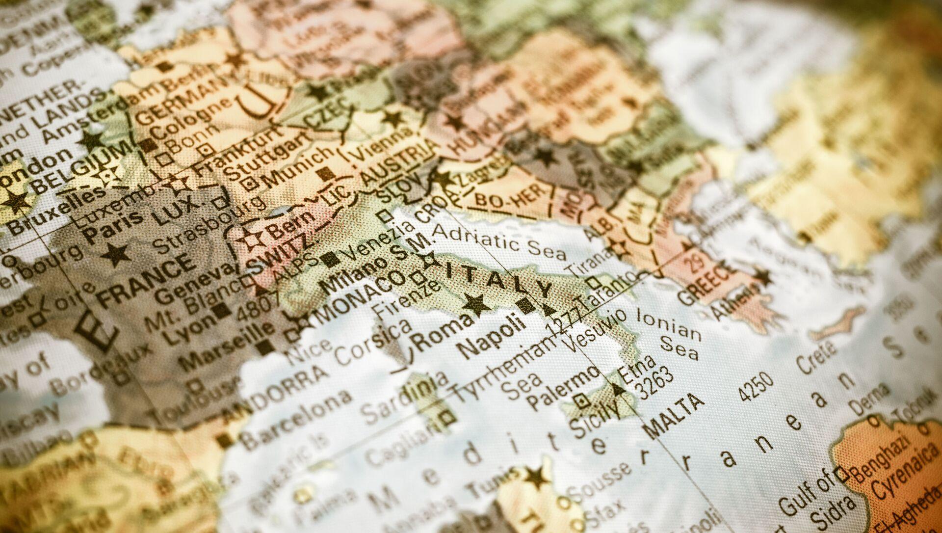 La mappa del Mediterraneo - Sputnik Italia, 1920, 11.02.2021