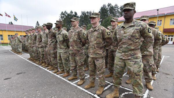 Militari USA in Ucraina - Sputnik Italia